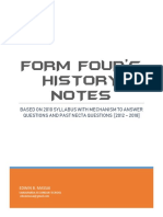 HISTORY FORM FOUR COMPLETE NOTES.pdf