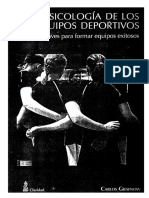 Giesenow, Carlos. Psicología de Los Equipos Deportivos. Cap.3