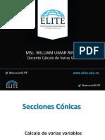 2. SECCIONES CONICAS