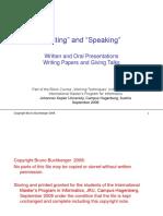 WorkingTechniquesSpeakingWriting.ppt