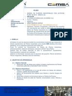 03-Silabo Autocad Plant 3d 2019-Basico