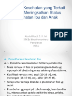 Program Kesehatan Yang Terkait Dalam Meningkatkan Status KIA - Bidanbinusa2015