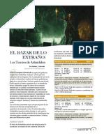 El Bazar de Lo Extraño - Los Tesoros de Ashardalon (Dragon 365)