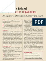 Accelerated Learnign Research, Theory And