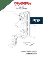 PM GSR G2-001 Home Gym English