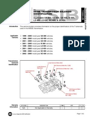 A650E_VB | Transmission (Mechanics) | Automatic Transmission