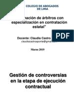 Arbitraje Gestion de Controversias