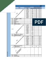 Cuadro de Cantidades - Actividad I Costos y presupuestos para edificaciones II