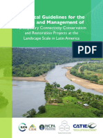 (Herrera-F et al, 2016) Technical Guidelines for theDesign and Management ofParticipatory Connectivity Conservationand Restoration Projects at the Landscape Scale in Latin America.pdf