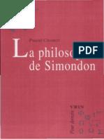 CHABOT, La philosophie de Simondon.pdf