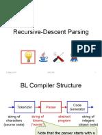 Recursive-descent-parsing