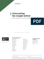 CIO Executive Board - Overcoming the Insight Deficit.pdf