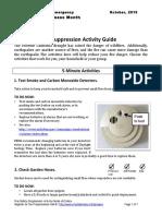 Fire Suppression Tips