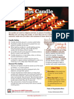 Religious Candles Safety Tips