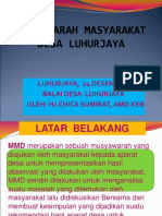 MUSYAWARAH MASYARAKAT DESA LUHURJAYA.ppt