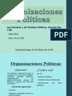 Módulo II - Organizaciones Políticas - Karla Martínez