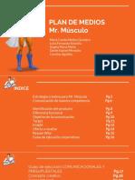 Estrategía Creativa Para Mr. Músculo