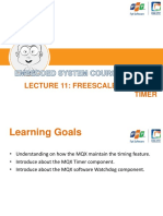 Lecture 11 - Freescale MQX RTOS Timer