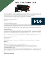 Guía Rápida GPS Tracker 103B