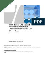 3900 Series LTE eNodeB V100R005C00SPC321 Performance Counter List 06(201....xls