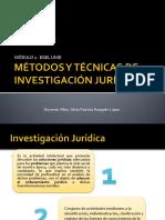 Métodos y Técnicas de Investigación Jurídica