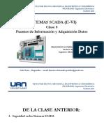 08 Sistemas SCADA - Fuentes de Informacion-Señalizaciones