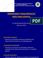 Síndromes Psiquiátricos 2019