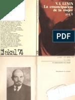 La emancipacion de la mujer - Lenin.pdf