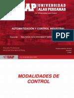 Modalidades de Control