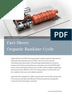 Siemens FactSheet ORC Module