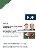 Metodologia Scrum Historia