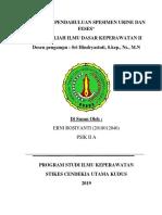 LAPORAN PENDAHULUAN SPESIMEN URINE DAN FESES-3.docx