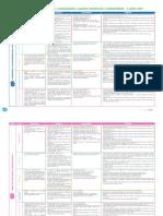 Cartel de Copetencia,Capacidades,Campos Tematicos y Desempeños 2 AÑOS