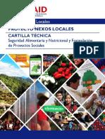 Cartilla Tecnica Seguridad Alimentaria y Nutricional y Form Proyectos Sociales