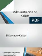 Administración de Kaizen