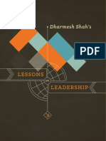 The Lesson on Leadership