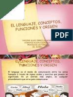 1.2.1. Lenguaje y Funciones