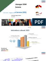 Bantuan tenaga ahli Jerman SES-Prof, tenaga ahli industri, engineer, guru tamu, dll