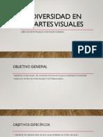 Diversidad en Las Artes Visuales