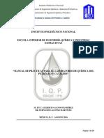 Manual de Practicas de Química Del Petroleo y Catálisis (2)