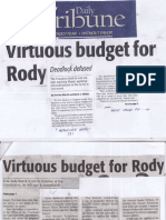 Daily Tribune, Mar. 27, 2019, Virtuous budget for Rody.pdf
