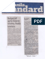 Manila Standard, Mar. 27, 2019, Budget bill up to Duterte scrutiny, finally.pdf