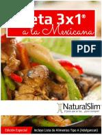Menus a La Mexicana