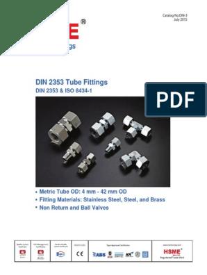 Hydraulic Fitting Metric Locking Plug for Screw Holes m27x2,0