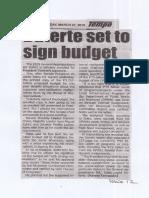 Tempo, Mar. 27, 2019, Duterte set to sign budget.pdf