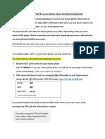 TPG VoLTE Manual Setup for Xiaomi