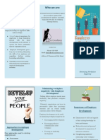 Employee Development Brochure