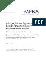 MPRA Paper 65915