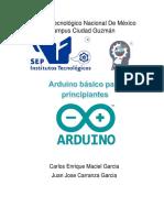 Curso Arduino Principiantes ITCG 2016