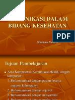 Komunikasi Efektif ( Dr. Sulhana )